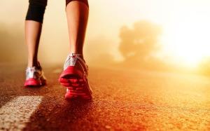 Nike-Running-and-Sunrise-HD-Wallpaper